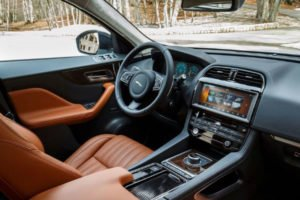 2020 Jaguar F Pace Interior