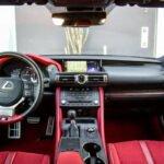 2020 Lexus RC Interior