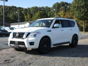 2020 Nissan Armada White