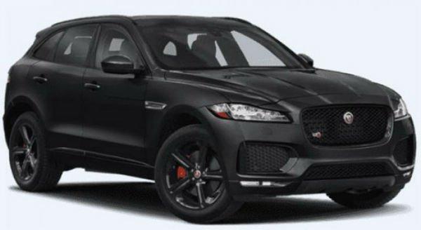 Jaguar F Pace 2020 Black