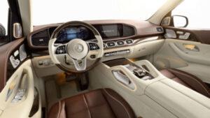 2020 Maybach GLS interior