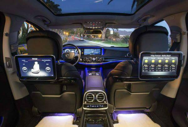 2020 Maybach S650 Interior