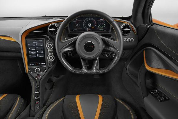 2020 McLaren 720s Interior