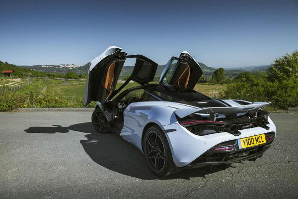 2020 McLaren 720s Rear