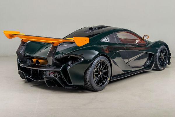 2020 McLaren P1 GTR