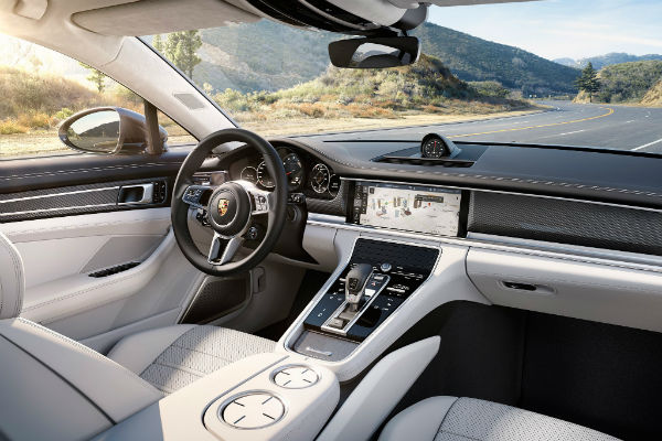 2020 Porsche Panamera Turbo S E Hybrid Executive Interior