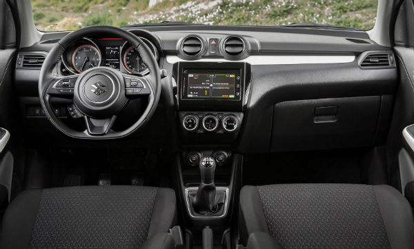 2020 Suzuki Swift Interior