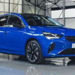 2020 Vauxhall Corsa Blue