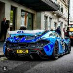 McLaren P1 2020 Blue