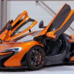 McLaren P1 2020 Orange