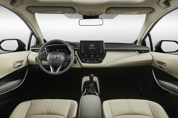 2020 Toyota Corolla Inside