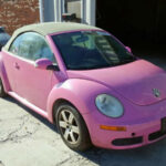 2020 Volkswagen Beetle Pink