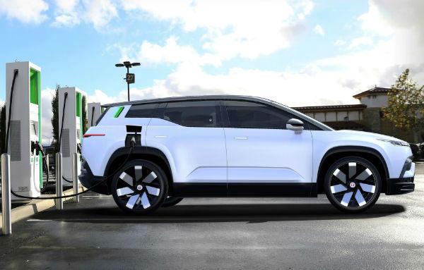 2021 Fisker Ocean Car