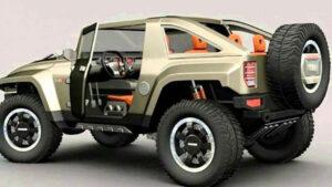 2021 Hummer HX Interior