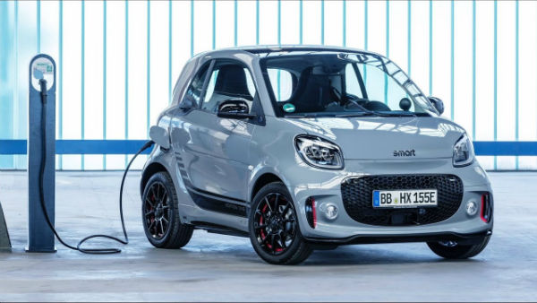 2021 Smart Fortwo Electric Car