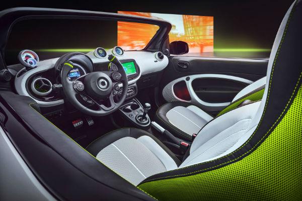 2021 Smart Fortwo Interior