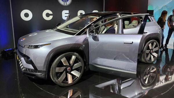 Fisker Osean Electric SUV