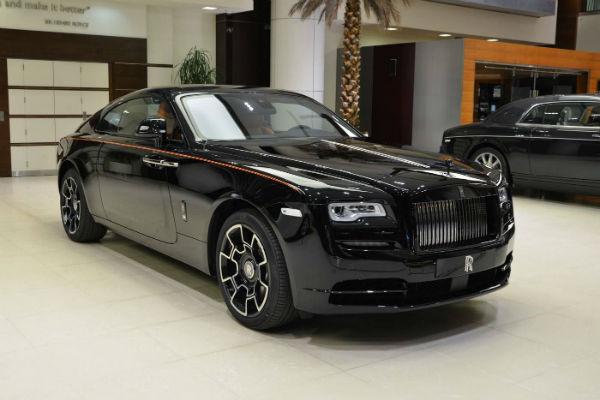Rolls-Royce Ghost Black