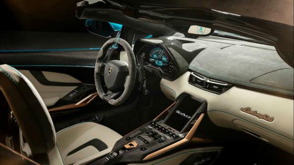 2021 Lamborghini Sian Roadster Interior