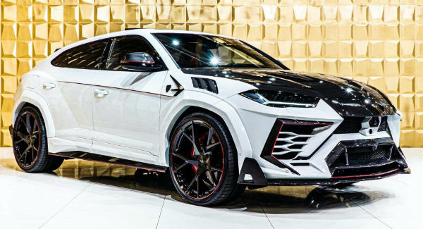 2021 Lamborghini Urus Mansory