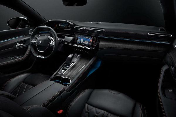 2021 Peugeot 508 Interior