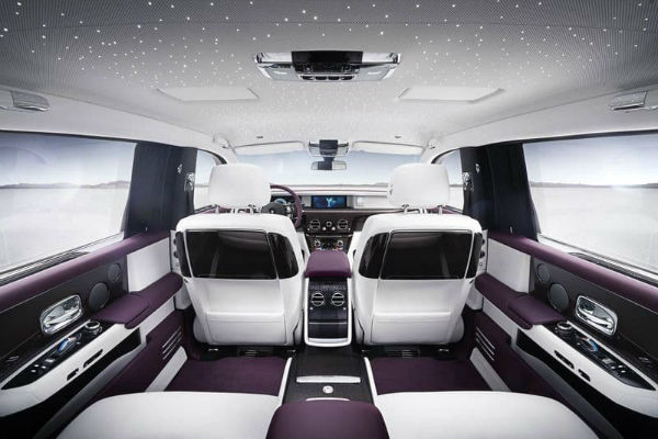 2021 Rolls-Royce Ghost Interior
