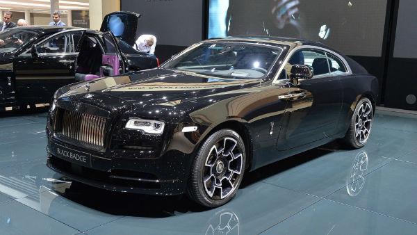2021 Rolls-Royce Wraith Black Badge