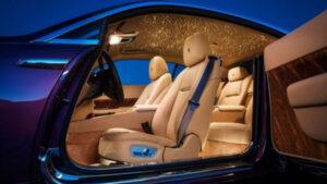 2021 Rolls-Royce Wraith Inside
