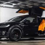 2021 Tesla Model X Black