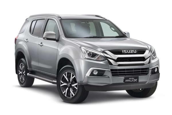 Isuzu MUX 2021 Thailand