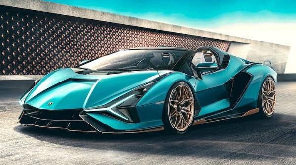 Lamborghini Sian Roadster 2021