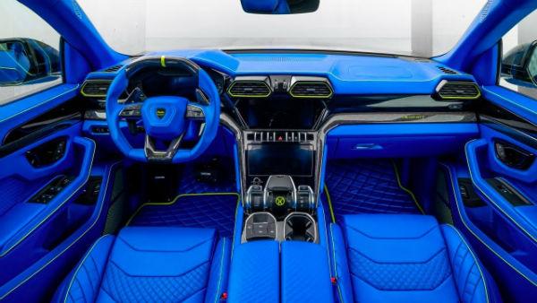 Lamborghini Urus 2021 Interior