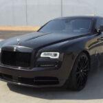 Rolls-Royce Wraith Matte Black
