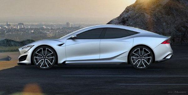 Tesla Model S 2021 Redesign