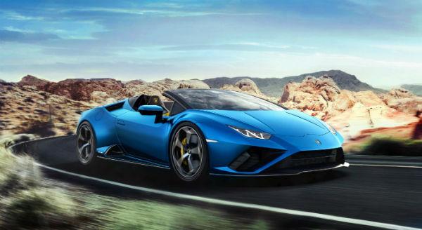 2021 Lamborghini Huracan Spyder