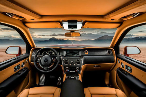 2021 Rolls-Royce Cullinan Interior