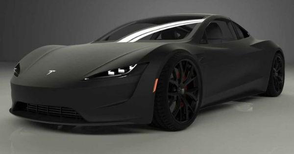 2021 Tesla Roadster Black