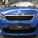 Nouvelle 108 Peugeot 2021