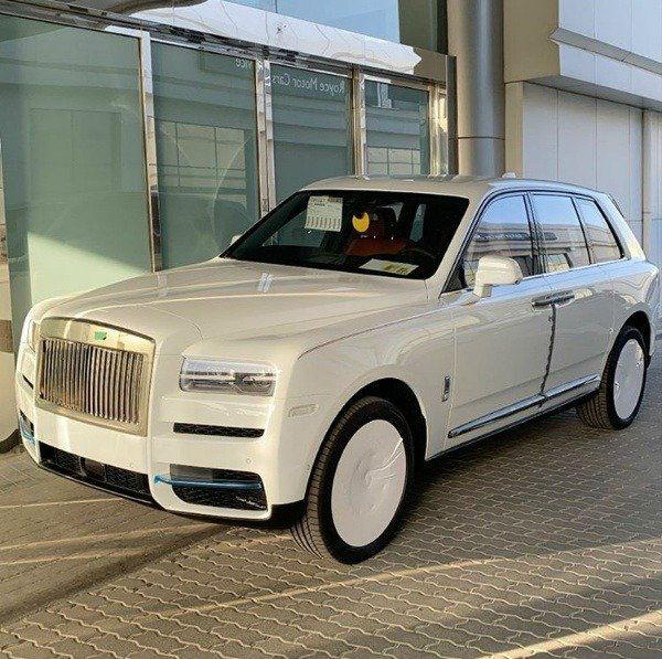 Rolls-Royce Cullinan 2021 Hushpuppi