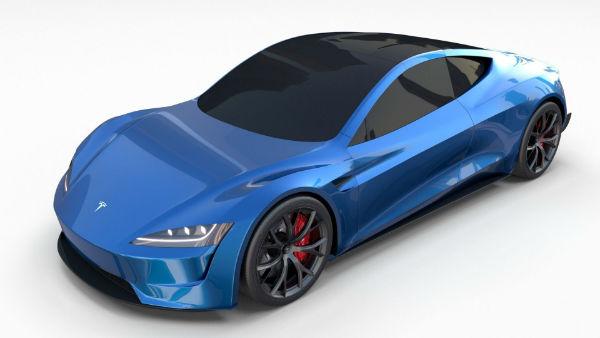 Tesla Roadster 2021 Blue