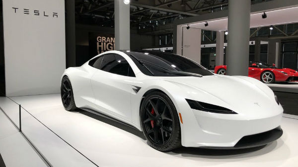 Tesla Roadster 2021 White
