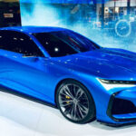 2021 Acura TLX Type S Blue