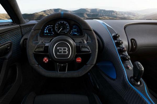 2021 Bugatti Chiron Interior