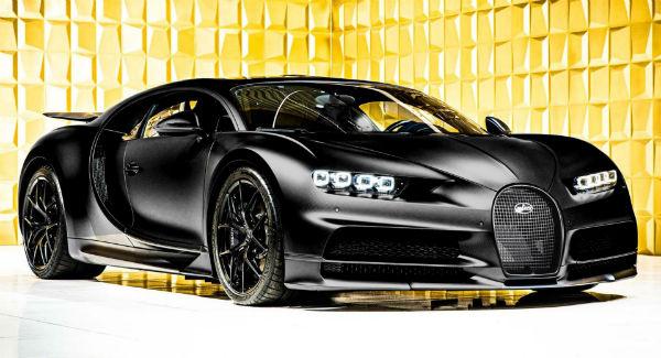 2021 Bugatti Chiron Sport Noire