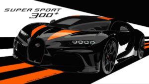 2021 Bugatti Chiron Super Sport 300+