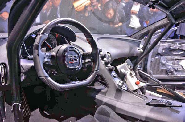 2021 Bugatti Chiron Super Sport Interior
