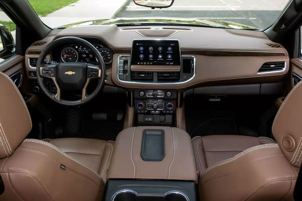 2021 Chevrolet Tahoe Interior