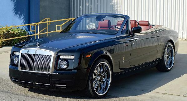 2021 Rolls-Royce Phantom Drophead