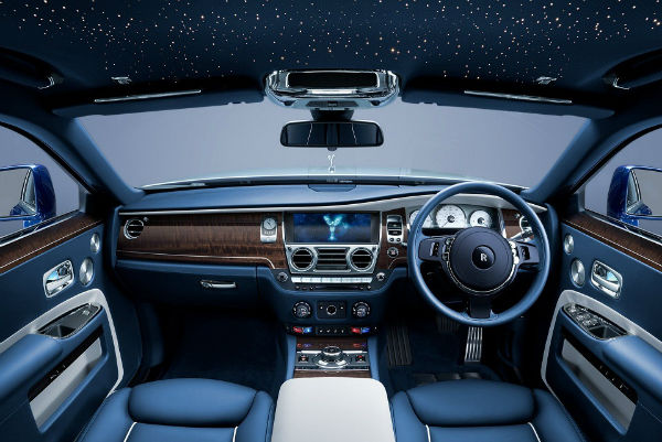 2021 Rolls-Royce Phantom Interior