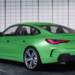 BMW 4 Series 2021 Green